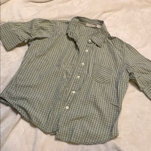 Boys large button up